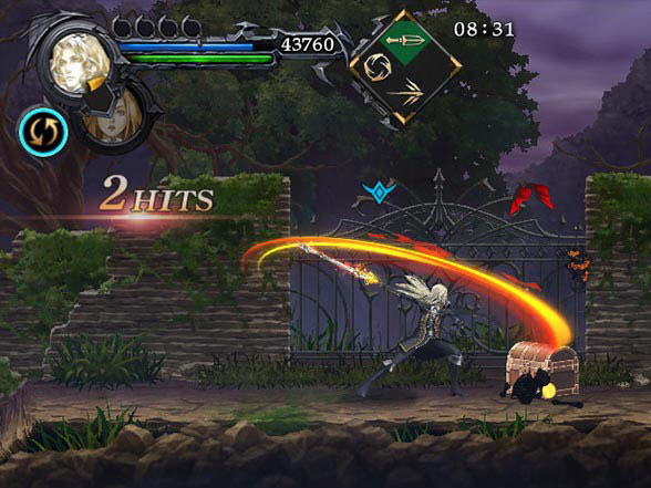 Android hra Castlevania: Grimoire of Souls