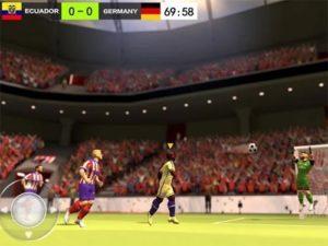Android sportovní hra Football hero