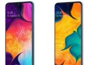 Samsung Galaxy A30 a A50 oficiálně