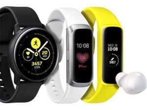 Samsung představil tři nová nositelná zařízení