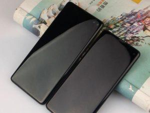 Samsung Galaxy S10+ na videu