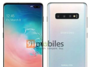 Oficiální rendery Samsung Galaxy S10