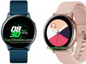 Specifikace Samsung Galaxy Watch Active