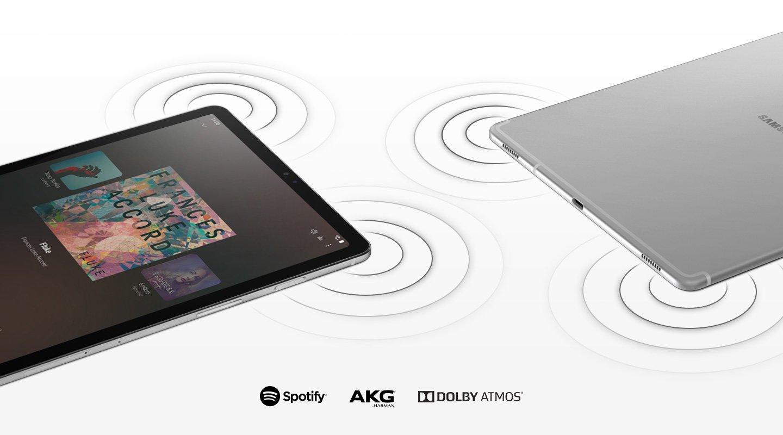 Samsung Galaxy Tab S5e - dolby atmos