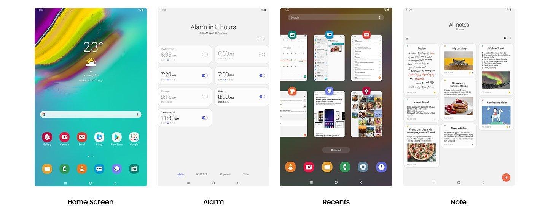 Samsung Galaxy Tab S5e - One UI