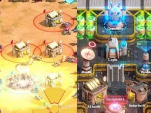 Hra Generals War : RTS PVP Online