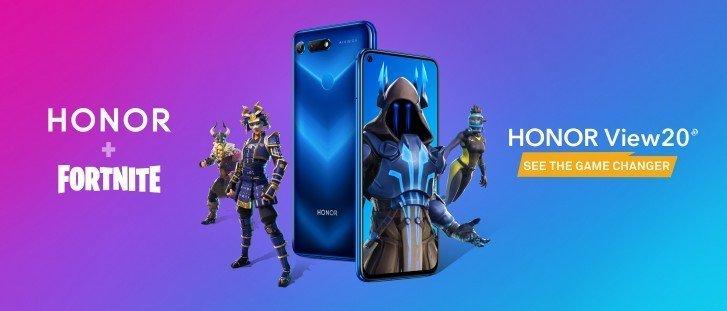 Honor 8X Fortnite a Vulkan API