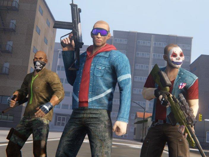 Hra Grand Crime Gangster