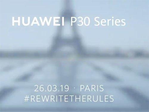 Huawei P30 již v Březnu