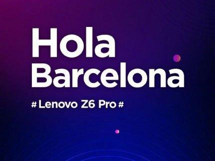 Lenovo Z6 Pro na MWC 2019