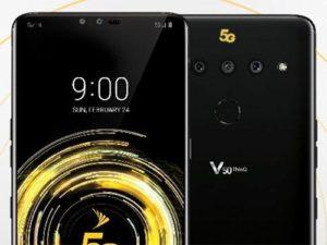 LG V50 ThinQ bude mít podporu 5G a druhý displej