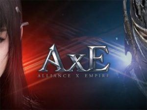 Android MMORPG hra na mobil AxE: Alliance vs Empire