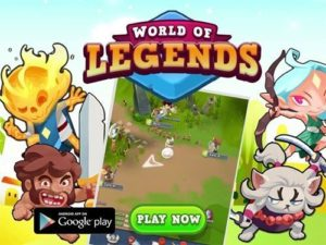 World of Legends MMORPG na mobil