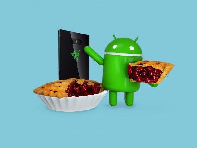 Razer Phone a aktualizace na Android Pie