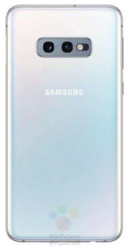 Samsung Galaxy S10E - rendery