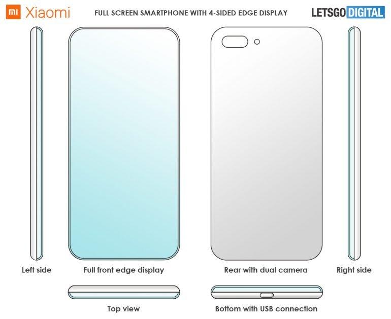 Xiaomi chytrý telefon patent