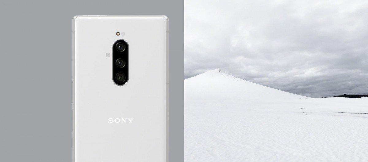 Sony Xperia 1 bílá