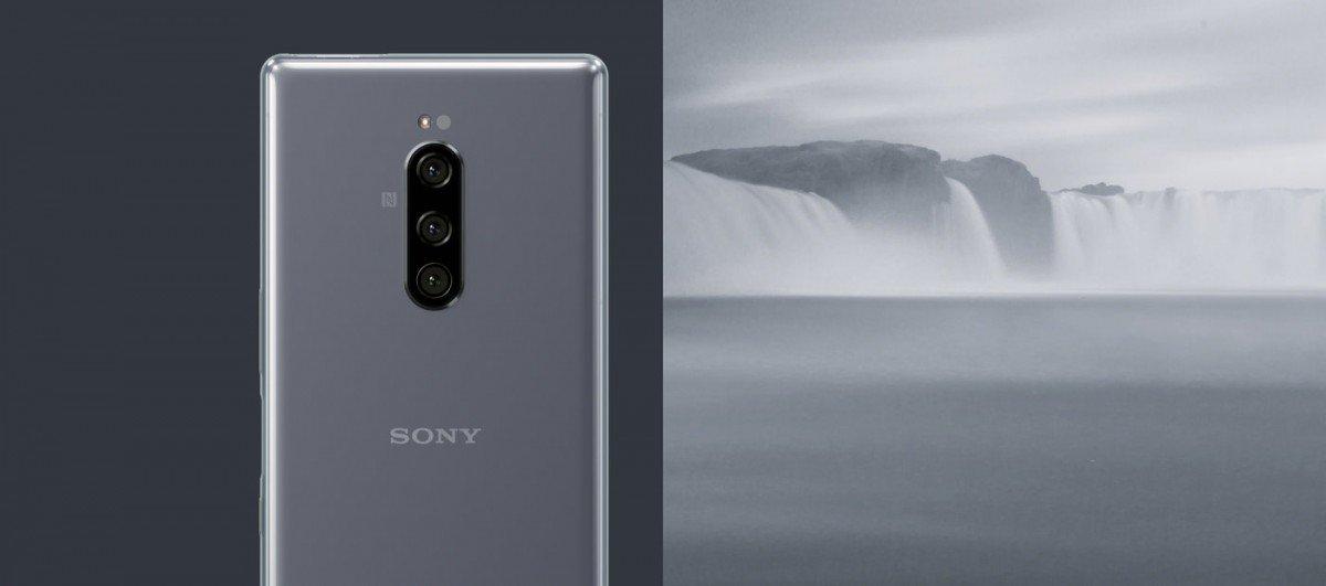 Sony Xperia 1 stříbrná
