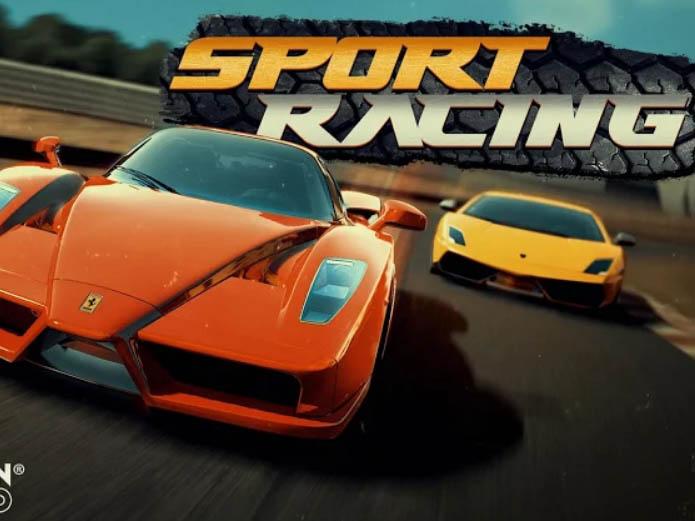 Závodní hra Sport Racing