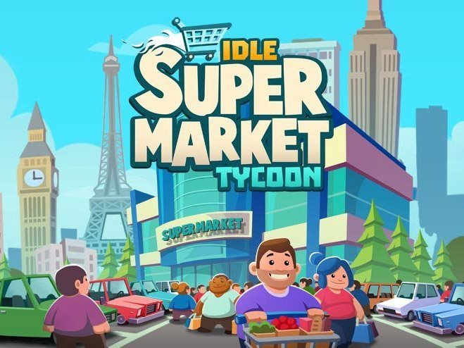 Supermarket Tycoon android hra