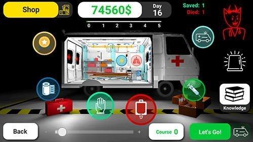 Hra simulátor záchranáře