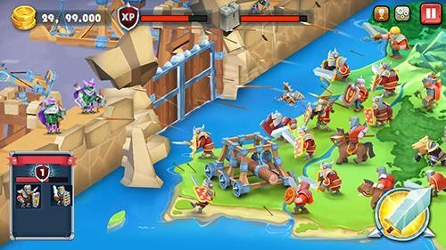 Android strategie Castle defense