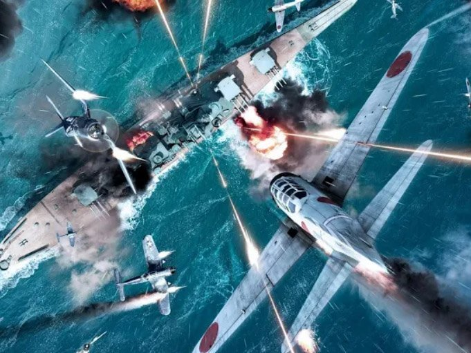 Android akční hra Gunship War: Total Battle