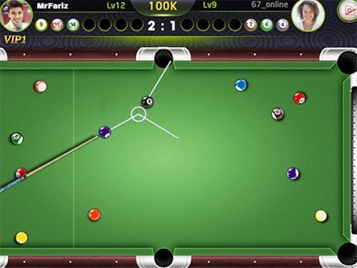Android hra Amazing pool pro