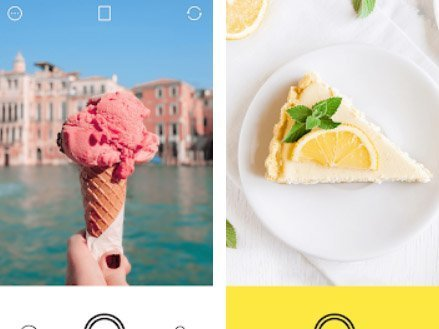 Aplikace Foodie - Camera for life