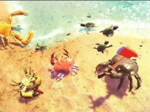 Battle royale hra Crabs ke stažení na mobil