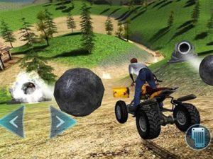 Android dobrodružná hra Crash Wheels 3D