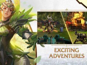 Android hra Era of Legends ke stažení