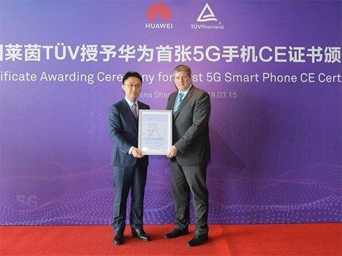 Huawei Mate X a 5G certifikát