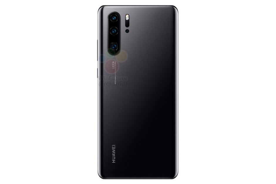 Huawei P30 fotoaparát