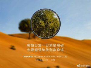 Huawei pokračuje ve své reklamní kampaní na P30