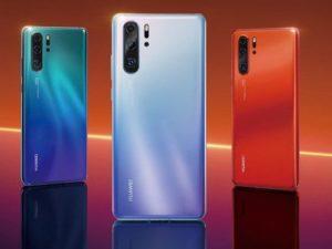 Huawei P30 a P30 Pro se selfie nočním módem