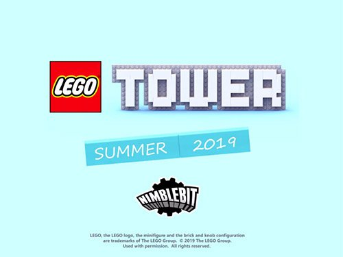 LEGO Tower hra v létě 2019