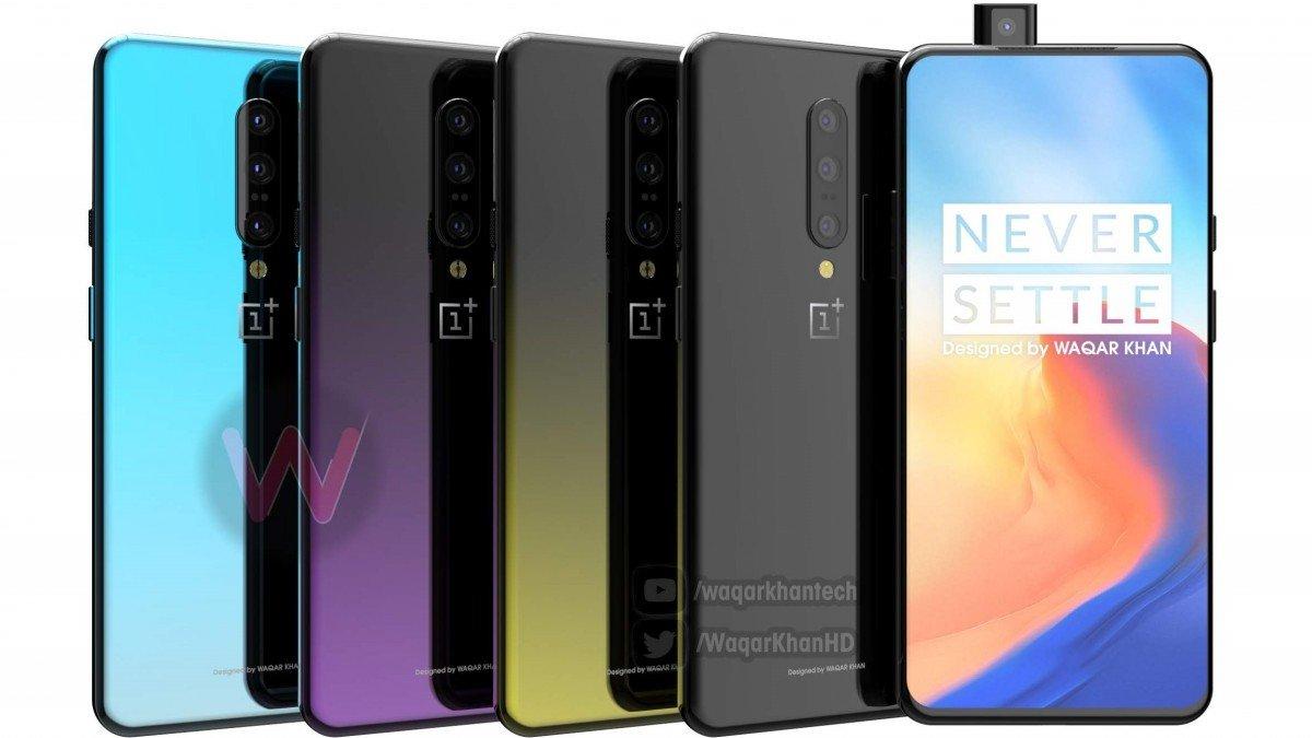 OnePlus 7 barevné varianty
