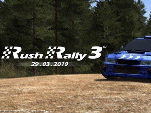 Závodní hra Rush Rally 3
