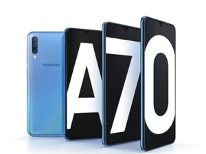 Samsung Galaxy A70 má noční mód
