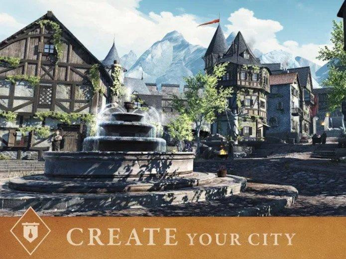 MMORPG hra The Elder Scrolls Blade ke stažení MMORPG