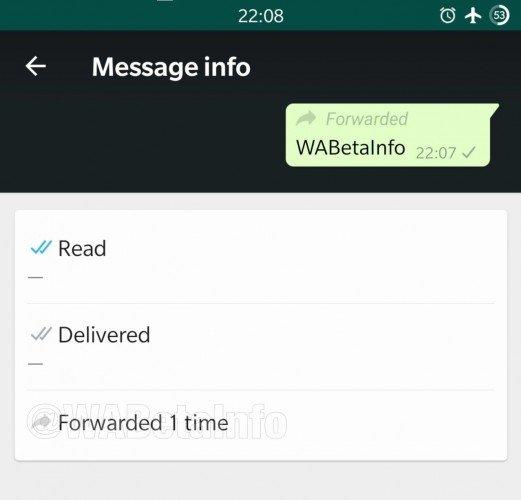 WhatsApp funkce