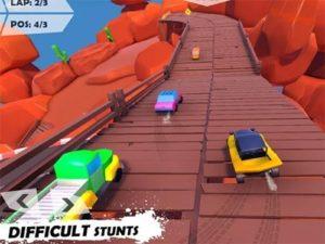 Závodní hra Mini car racing: Hot wheels