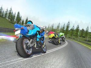 Android závodní hra Speed Bike Challenge