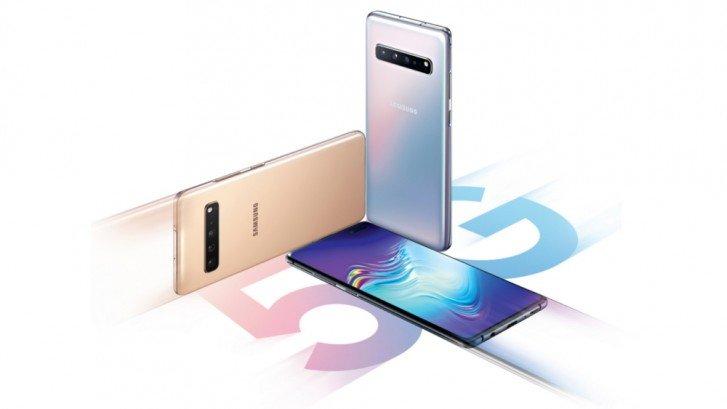 5G telefony Samsung