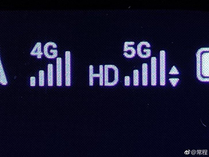 5G podpora sítě