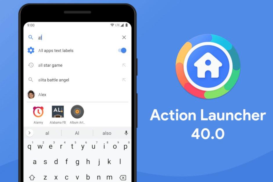 Action Launcher 40.0