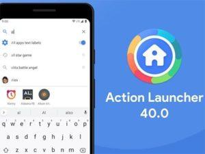 Action Launcher 40.0 aktualizace