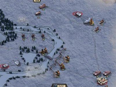 Frontline strategická android hra