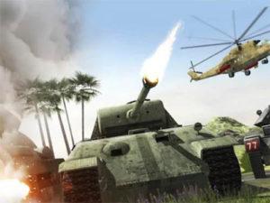 Strategická hra Tank War Blitz 3D